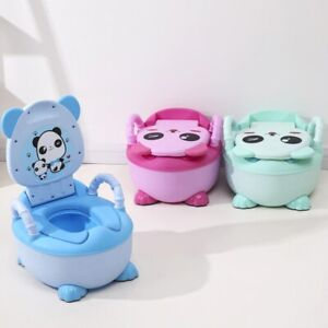 Soft Baby Potty Plastic Road Pot Infant Cute Baby Toilet Seat Potty Trainer Seat