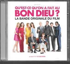 CD ALBUM 28 TITRES-BOF/OST QU'EST CE QU'ON A FAIT AU BON DIEU--MARC CHOUARAIN