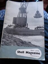 JUST POST WW2 SHELL MAGAZINE MAY 1946 ILLUSTRATED NETHERLANDS TRADE FAIR