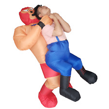Halloween Inflatable Wrestler Costumes Adults Party Fancy Dress Cosplay Outfits