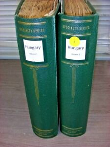 HUNGARY, Nice BOB,Amazing Stamp & Cover Collection in a 2 Volume Scott Specialty