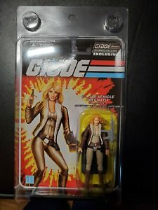 G.I. JOE COVERGIRL  MOC FSS 1.0 Sealed Collector Club Exclusive RARE.