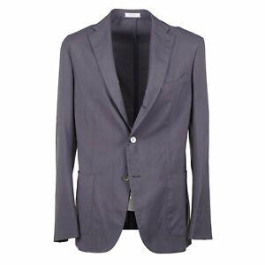 Boglioli Solid Gray Lightweight Wool Unstructured 'K Jacket' Suit 40R (Eu 50)
