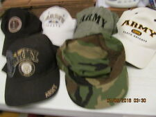 Lot Of 6  Army Hats United States Army     Black Knights   Nice LQQK!!!!