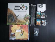 KickstarterPledge: Exo Mankind Reborn Brettspiel DEUTSCH selten + Exclusives NEU