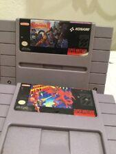 Super Castlevania 4 Konami & Super Metroid Nintendo ULTIMATE SNES EXC Retro Cart