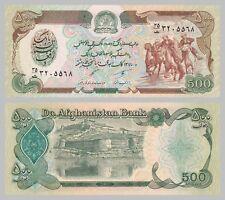 Afganistán 500 afganis 1991 p60c UNC.