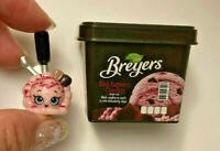 Black Raspberry Breyers + mini pack, Shopkins Real Littles Season 13 Freezer!