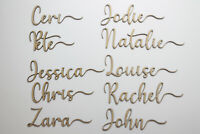 Place Cards Wedding Place Cards Wood Custom Laser Cut Names Place Setting Names