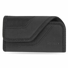 Reiko Horizontal Rugged Pouch With iPhone 6/ 6s 4.7inch Plus Black