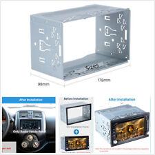 Universal 2 DIN Fascia Mounting Dash Kit for Car Radio DVD Stereo Installation