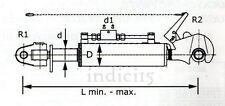 indici15 Terzo Punto Idraulico Rapido F D80 650/930 cat.2 Ø25,4 Valvola  Guaita