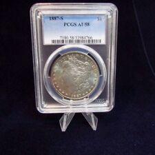 1887 - S PCGS  AU58  Morgan Silver Dollar