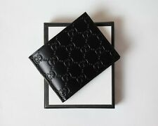 Gucci Wallet Signature leather Black