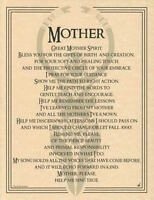 Great Mother Spirit Evocation Parchment Page for Book of Shadows, Altar!