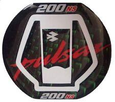 Custom Made Fuel Cap Pad Protector For pulsar 200 NS Green