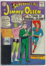 (1965) Superman'S Pal Jimmy Olsen #86 Brainiac Cover And Story! 3.5 / Vg-
