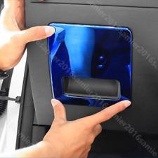 fit for HYUNDAI Elantra blue stainless steel left Storage Box decoration trim