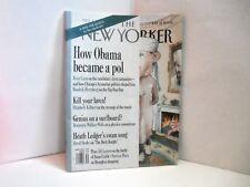 New Yorker Magazine Michelle Barack Obama fistbump satire July 21 2008 Fine