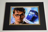 David Tennant Signed Autograph 10x8 photo display Doctor Who TV AFTAL & COA