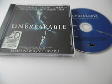 UNBREAKABLE SOUNDTRACK JAMES NEWTON HOWARD CD ALBUM WILLIS JACKSON SHYALAMAN