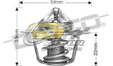 DAYCO Thermostat FOR Dodge Ram 1500 96-05 5.9L OHV MPFI Magnum Import