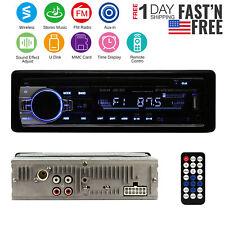 Car Stereo Audio Wireless In-Dash FM Aux Input Receiver SD/USB/MP3 Radio Player