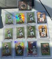 Johnny Manziel Rookie Lot (13) Refractors Absolute Stud Cleveland Browns