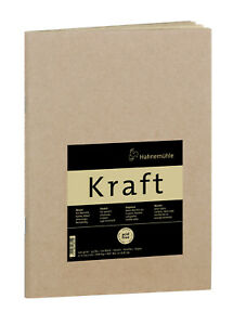 Hahnemühle Kraft Paper A4 Sketch Booklet (Ochre Cover, 20 Sheets)