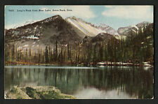 Posted 1918 in UK: View of Long Peak & Bear Lake, Estes Park, Colorado, USA