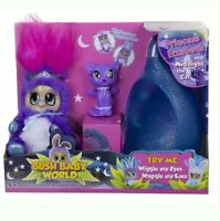 Bush Baby World Princess Izzabeth with Movable Eyes and Ears inc Sleepy Pod