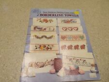 Cross Stitch Pattern Borderline Towels Sam Hawkins Lambs Canada Goose Daisy