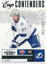 2011-12 Panini Contenders #139 Victor hedman-x/999 - Tampa Bay Lightning