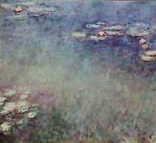 Claude Monet  Water Lilies St Louis Art Museum Vintage Art Print