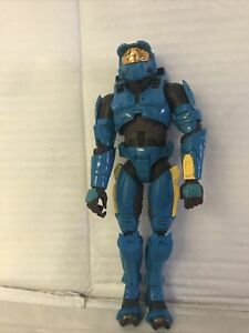 "Joyride HALO Blue(Teal) Spartan Figure 8"""