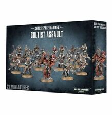 Warhammer 40k - Chaos Space Marines Cultist Assault *NIB*
