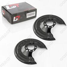 2x Deckblech Bremsscheibe Bremsstaubblech Bremsankerblech hinten für OPEL ZAFIRA