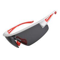 RockBros Polarized Bicycle Glasses Eyeglasses Eyewear Bike Sunglasses Red