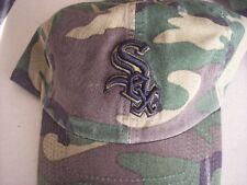 Chicago White Sox MLB Baseball Hat Cap Camoflage M