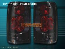89-95 TOYOTA PICKUP TAIL LIGHTS DARK SMOKE G2 94 93 92 91