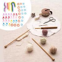 Plastic Knit Stitch Knitting Needles Crochet Stitch Knit Craft Tool Accessories