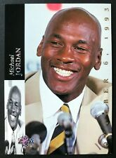 1993-94 UPPER DECK SE MICHAEL JORDAN #MJR1, JORDAN RETIRES!