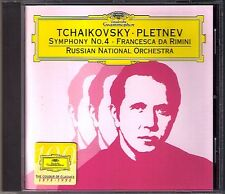 Mikhail Pletnev Tchaikovsky Symphony No. 4 Francesca poiché Rimini DG CD Ciaikosky