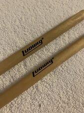 "Ludwig Rock Band Wood Drum Sticks 16"" Wii xbox 360 PS2 PS3 PS4 Original Pair EUC"
