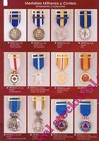 Medallas militares y policiales ORNAMENTO Y COLECCION P14 19