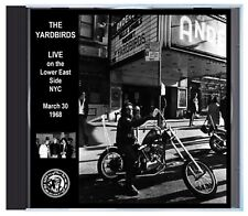 THE YARDBIRDS with Jimmy Page, LIVE in NYC, March 1968, on CD