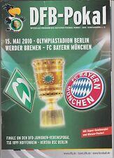 Orig.PRG   DFB Pokal   2009/10   FINALE   WERDER BREMEN - BAYERN MÜNCHEN !! TOP