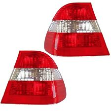 BMW E46 325i 325xi 330i 330xi Rear Pair Set of 2 Tail Lights Lamps Eagle Eyes