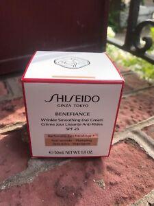 Shiseido - Benefiance Crème Jour Lissante Anti-Rides 50ml Neuve