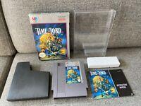 Time Lord -  NES NINTENDO Game *Complete in box* Rare! CIB VGC